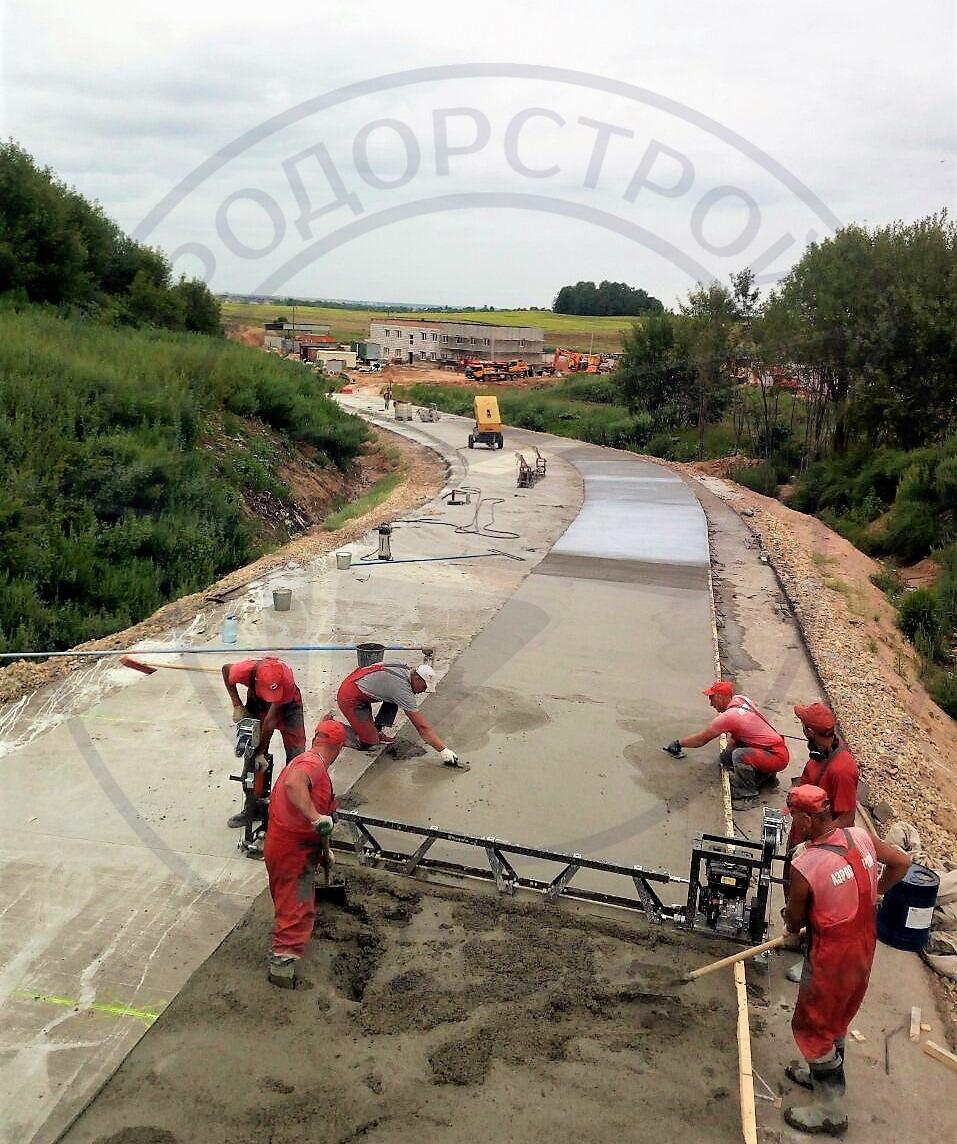 Основания дорог из тощего бетона подготовка цементного раствора